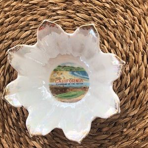 Vintage southern California Ashtray / bowl